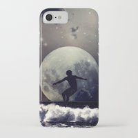 surfer iPhone & iPod Cases featuring Surfer by Monika Strigel