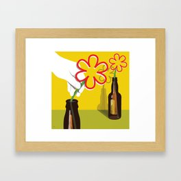 Tom's Helping Hand Framed Art Print
