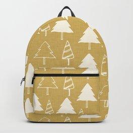 Christmas Tree Beige Backpack
