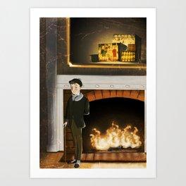 No.1 Christmas Series 1 - The Early Years Art Print