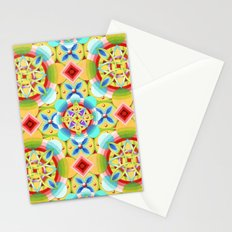 Cosmic Celtic Ombre (smaller scale) Stationery Cards