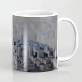 Urban technology buildings space aerial view Coffee Mug