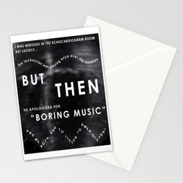 Boring Music Stationery Cards