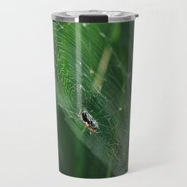 SPYDER ON GREEN Travel Mug