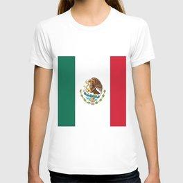 mexican sports fan mexico flag T-shirt