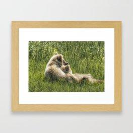 Best Friends Fur Ever - Bear Cubs, No. 8 Framed Art Print