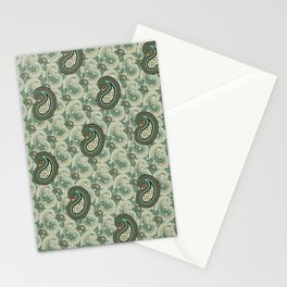 Excited Green Stationery Cards