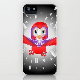 Magneto Bird iPhone Case