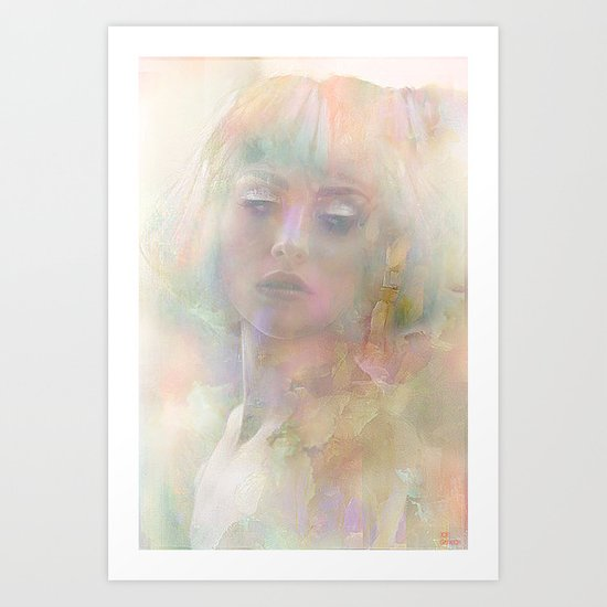 And if it was only a dream ... Art Print