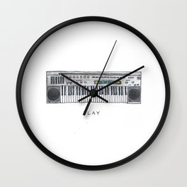 Play with Color Wall Clock