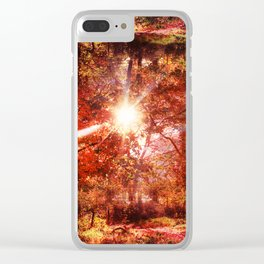 What's Up, Is Down Clear iPhone Case