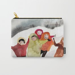 Go ice skating Carry-All Pouch