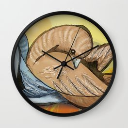 Palomas Wall Clock