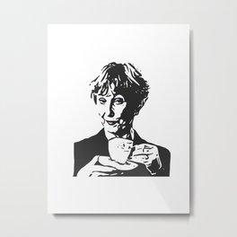 Mrs Hudson Metal Print