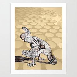 B BOY - vanguard style Art Print