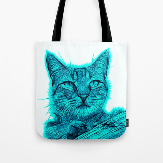 Feral cat Tote Bag
