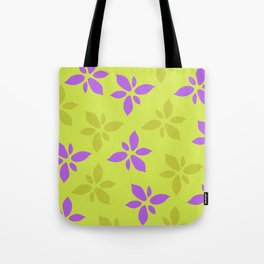 Illustration of flowers(yellow background) Tote Bag