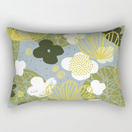 Kokedama Garden by Friztin Rectangular Pillow