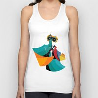 majoras mask Tank Tops featuring Mask by Alvaro Tapia Hidalgo