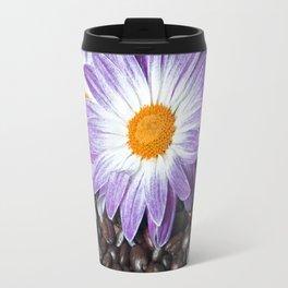 COFFEE & VIOLET DAISY Travel Mug
