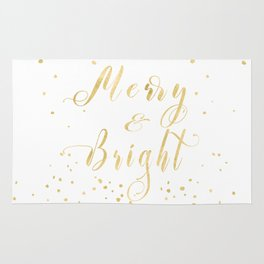 Merry and bright LOVE Rug