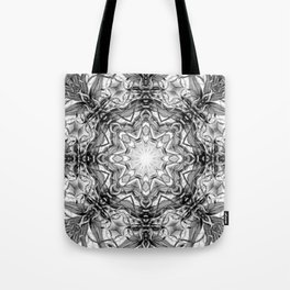 Black-and-White Abstract 2 Tote Bag