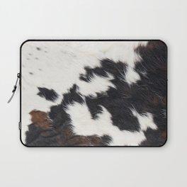 Brown Cowhide Laptop Sleeve