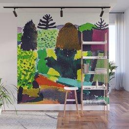 Paul Klee The Park Wall Mural