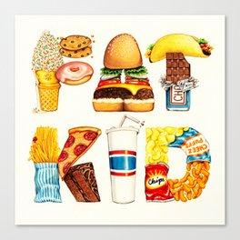 FAT KID Canvas Print