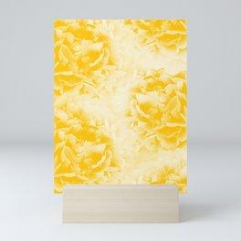 Yellow Peonies Dream #1 #floral #decor #art #society6 Mini Art Print