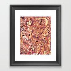 Pythia in a Frenzy Framed Art Print
