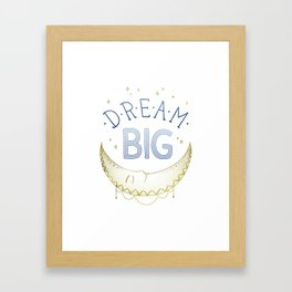 """Dream Big"" inspired by Ariel Kaye, Parachute Home Framed Art Print"