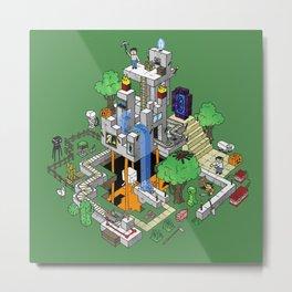 Mine City Metal Print