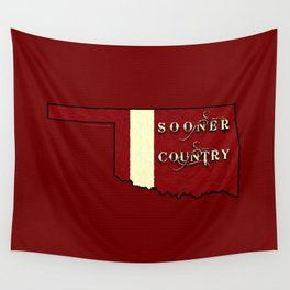 SOONER COUNTRY - 003 Wall Tapestry