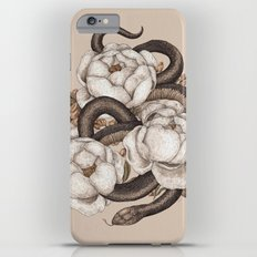 Snake and Peonies Slim Case iPhone 6s Plus