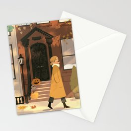 Fall in New York Stationery Cards
