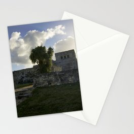 Sunrise Over Mayan Ruins Stationery Cards