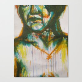 Loose painting Canvas Print
