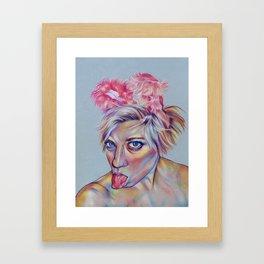 Bun Bun Framed Art Print