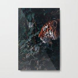 Tiger Style Metal Print