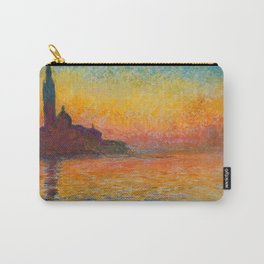 Monet At Dusk Carry-All Pouch