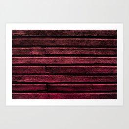 Crimson Lore Art Print