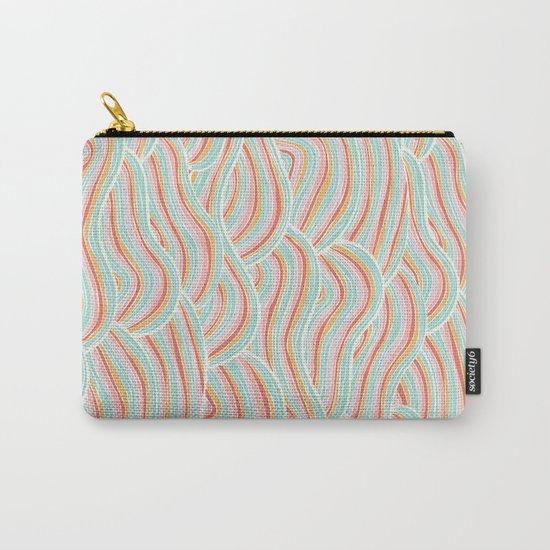 Summer Sea Waves Carry-All Pouch