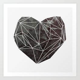 Heart Graphic 4 Art Print