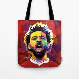 Mo Salah WPAP Tote Bag