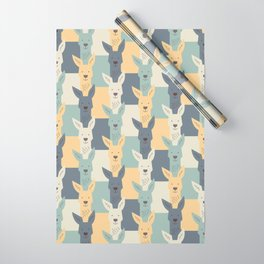 Kangaroos Wrapping Paper