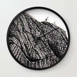 Knit Cap Wall Clock