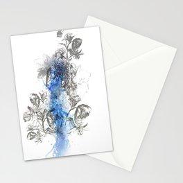 Hawk Illustration Stationery Cards