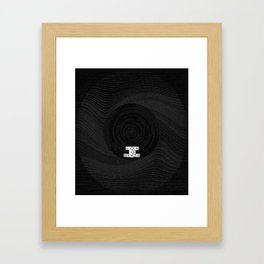 Life Is Death - 'Fuzzy' Collage Framed Art Print