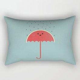Watermelon Umbrella Rectangular Pillow